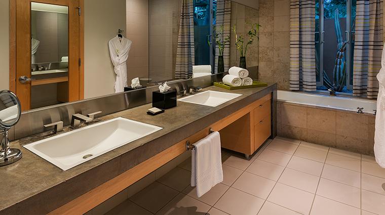 The Sanctuary Spa casita bathroom