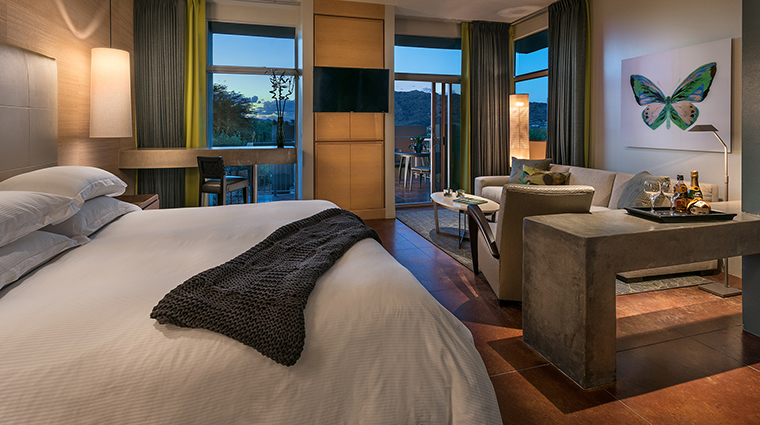 The Sanctuary Spa casita bedroom