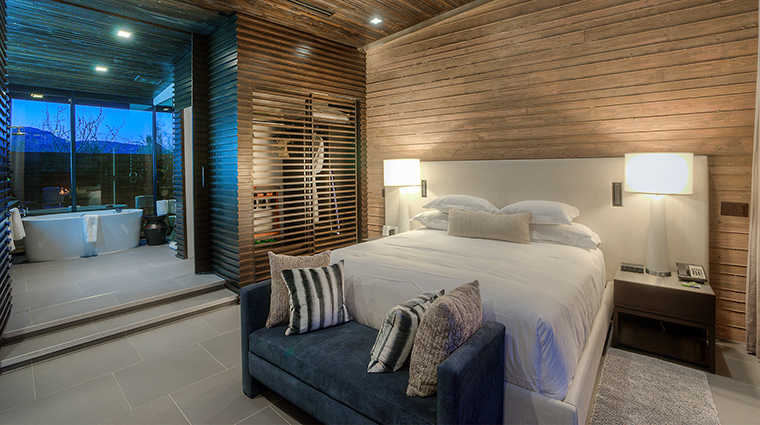 The Sanctuary on Camelback Mountain Resort and Spa Casa Del Sano bedroom