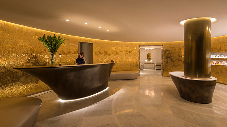 The Spa at Four Seasons Ten Trinity Square Reception