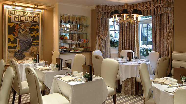 The egerton house hotel dining room