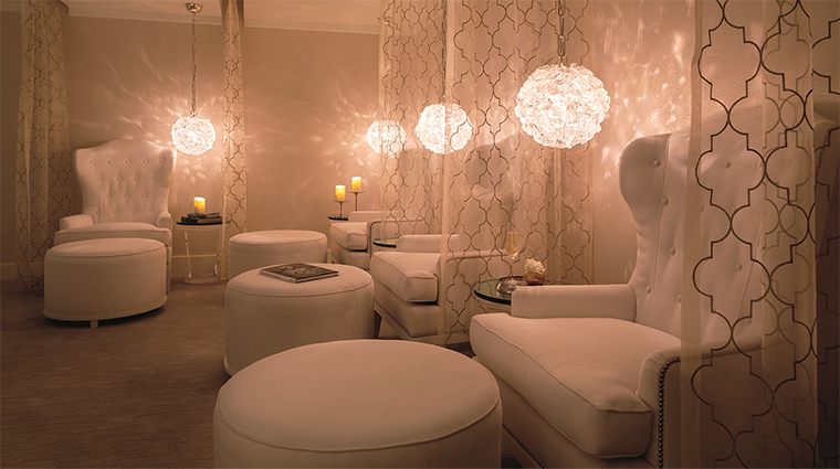 The spa at the ritz carlton rancho mirage womens relaxation room