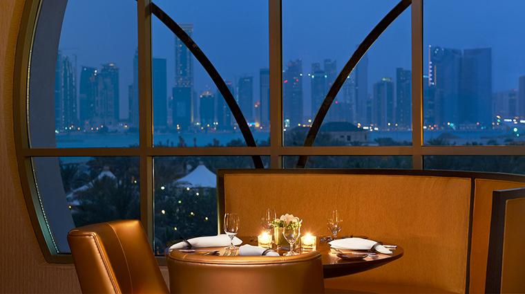 The st regis doha remede Vine restaurant