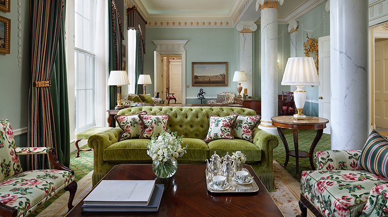 TheLanesborough suitelivingroom