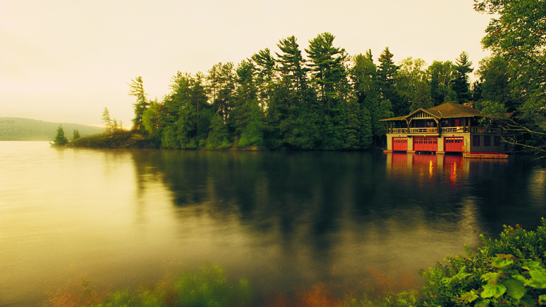 ThePoint Adirondacks BoatHouse 1 CreditThePoint