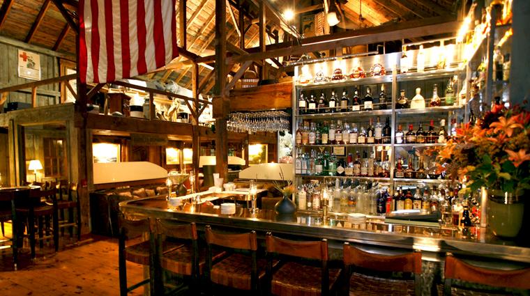TheWhiteBarnInnRestaurant Kennebunk Restaurant Style Bar CreditUSHotelsInc