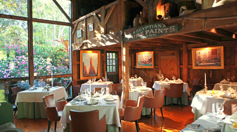 TheWhiteBarnInnRestaurant Kennebunk Restaurant Style Interior 1 CreditUSHotelsInc
