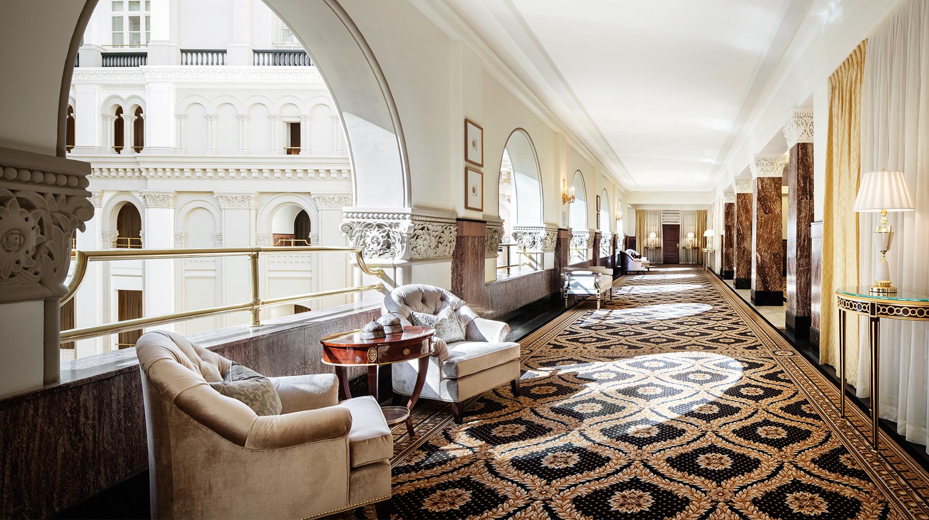Trump international hotel washington dc Benjamin corridor