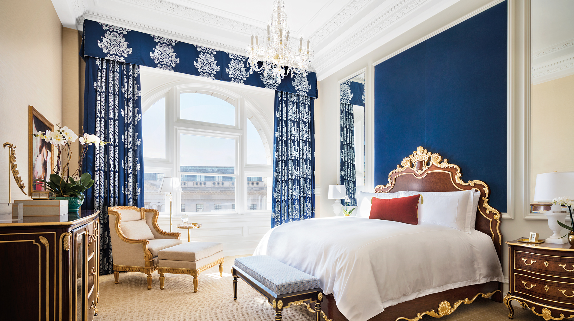 Trump international hotel washington dc Benjamin guest room