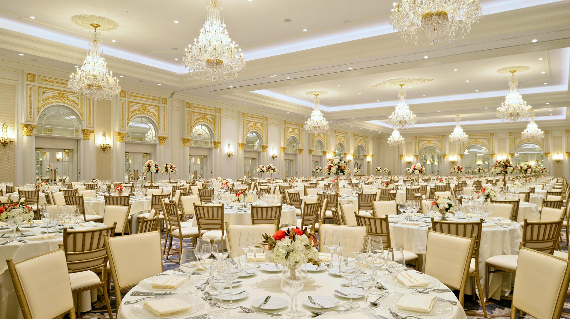 Trump international hotel washington dc Benjamin presidential ballroom
