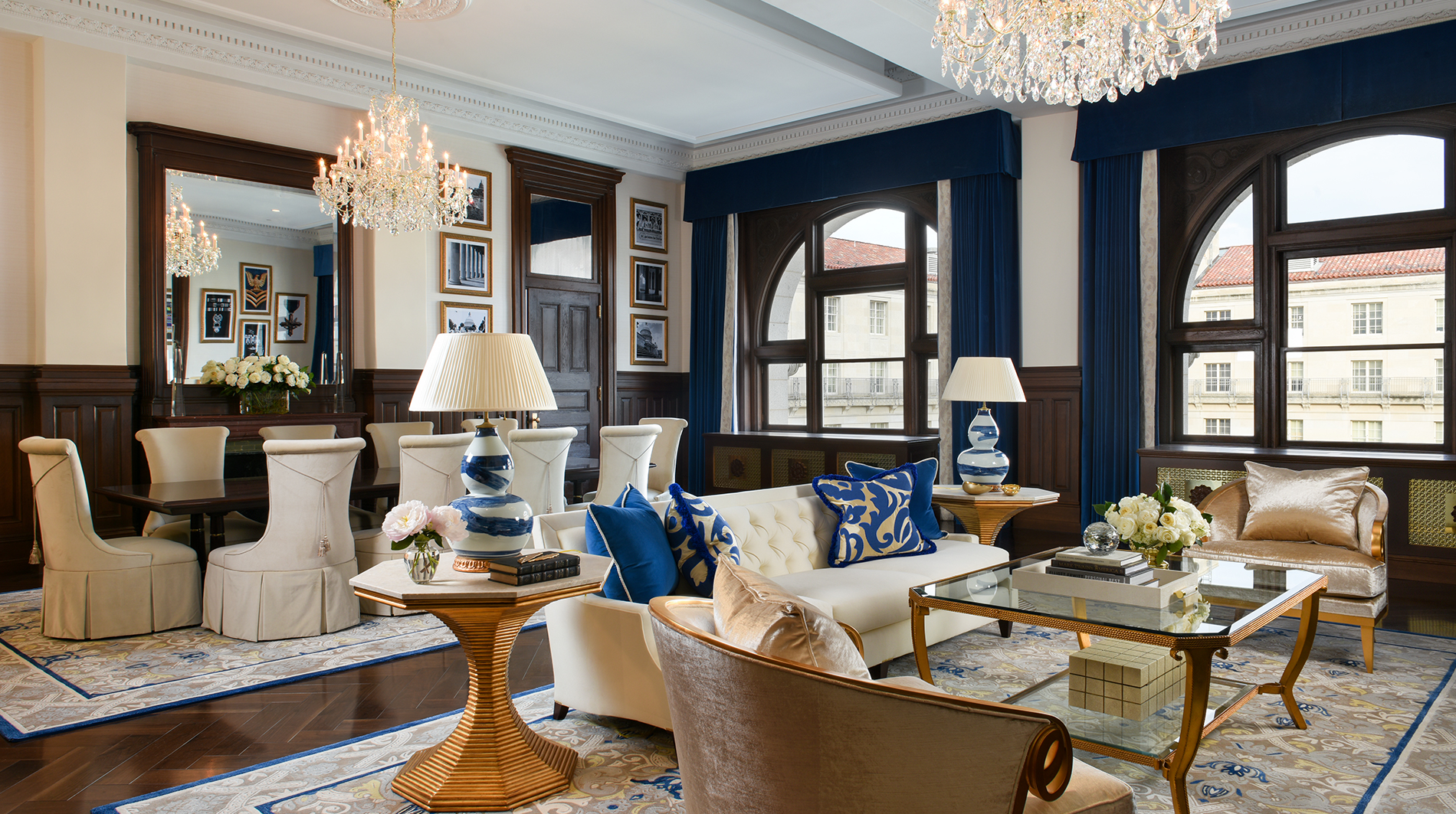 Trump international hotel washington dc Benjamin presidential suite