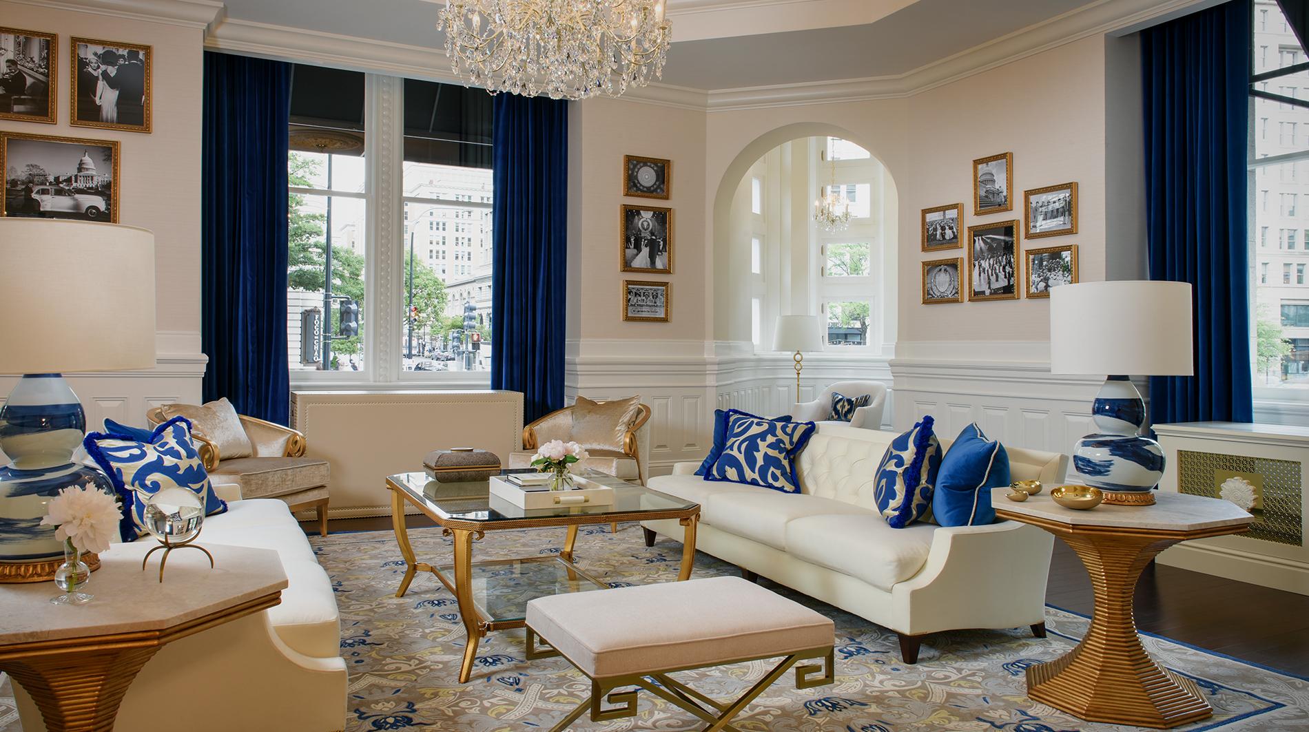 Trump international hotel washington dc Benjamin trump townhouse