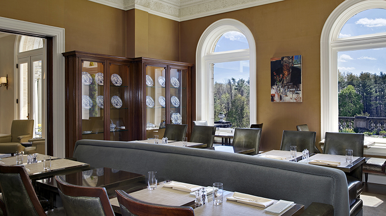 WheatleighDining Room Restaurant Library CreditWheatleighHotel
