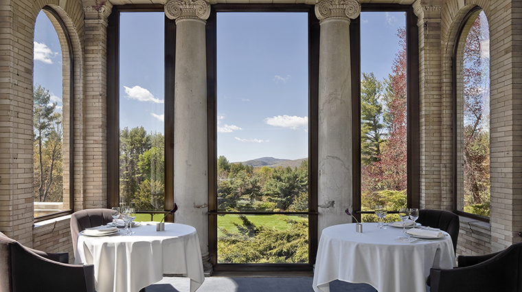 WheatleighDining Room Restaurant Portico CreditWheatleighHotel