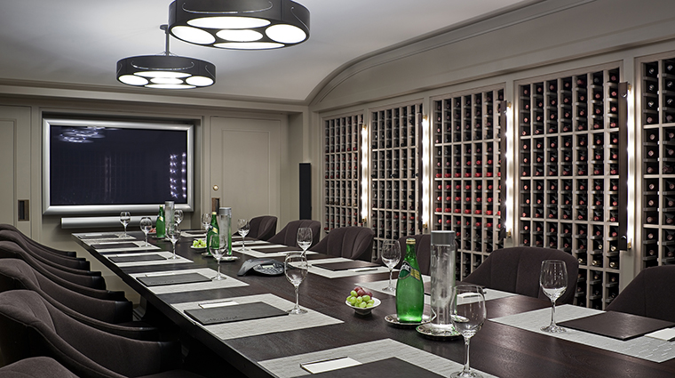 WheatleighDining Room Restaurant WineCellar CreditWheatleighHotel