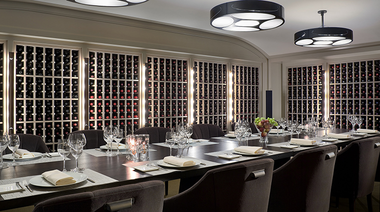 WheatleighDining Room Restaurant WineCellar.2 CreditWheatleighHotel