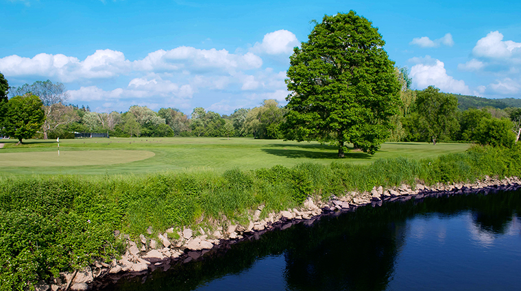 WheatleighHotel Hotel Activites GolfCourse12thGreenandRiver CreditWheatleighHotel