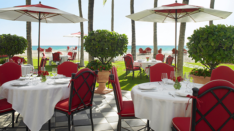 acqualina resort amp spa Costa Grill day