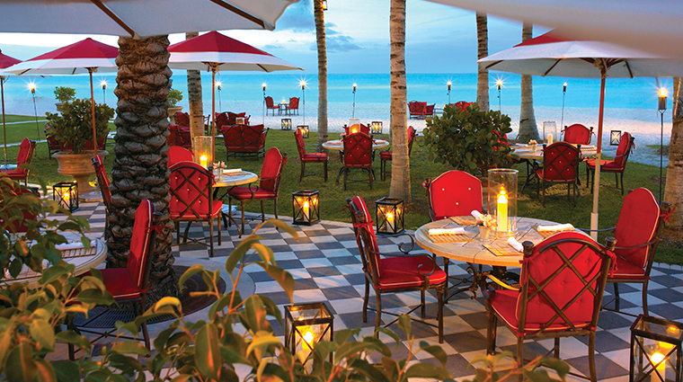 acqualina resort amp spa Costa Grill evening