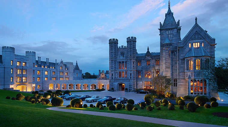 adare manor hotel and golf resort exterior night