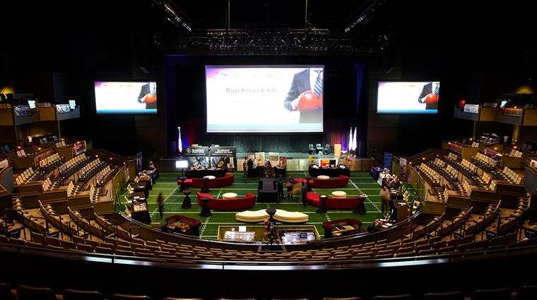 agua caliente casino resort spa the show event setup