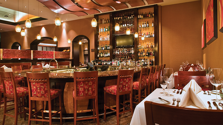 agua caliente casino resort spa the steakhouse bar