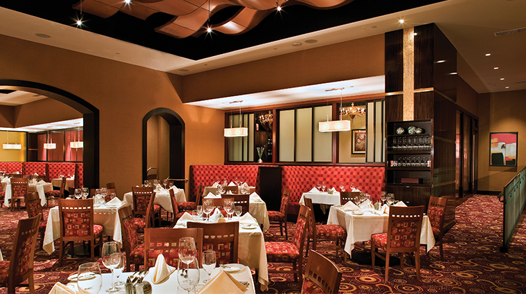 agua caliente casino resort spa the steakhouse dining room