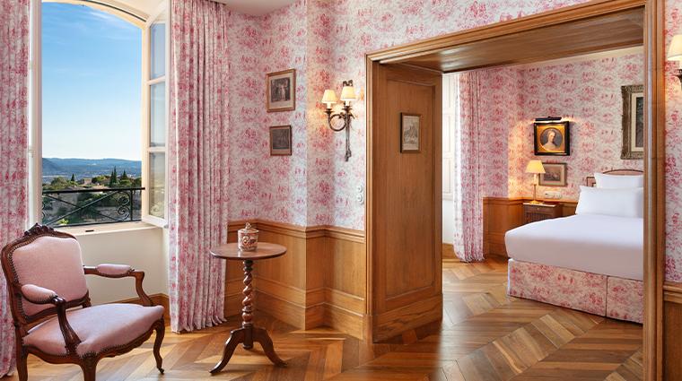 airelles gordes la bastide Suite a une chambre