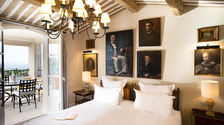 la bastide de gordes Suite Duc De Soubise Chambre
