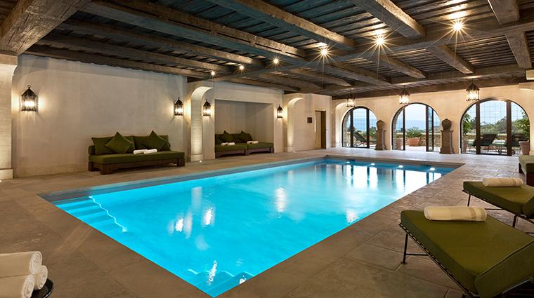 la bastide de gordes interior pool