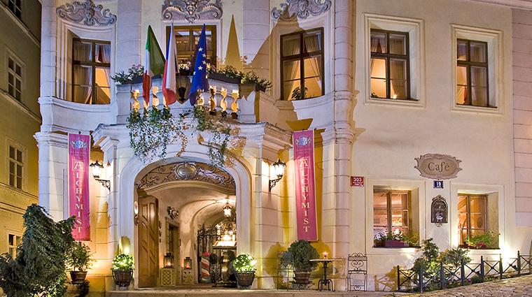 alchymist grand hotel spa exterior