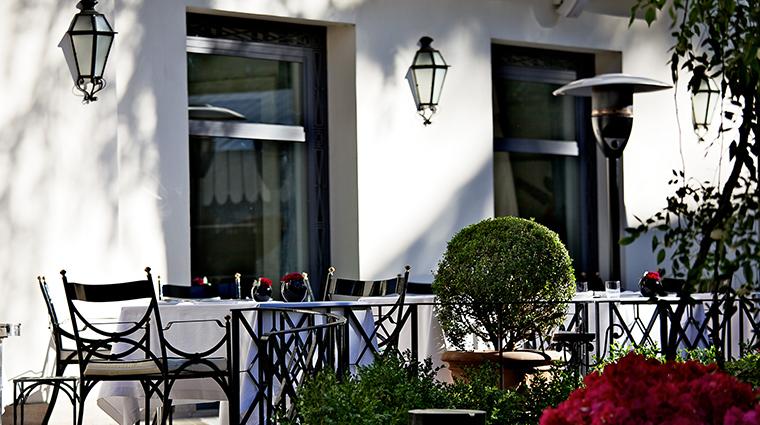 Aldrovandi Villa Borghese Assaje Restaurant Exterior