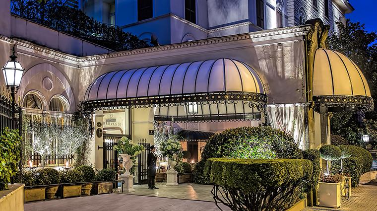 Aldrovandi Villa Borghese Hotel Entrance