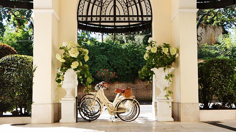 Aldrovandi Villa Borghese Hotel External Entrance