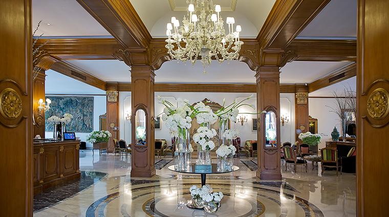 Aldrovandi Villa Borghese Lobby
