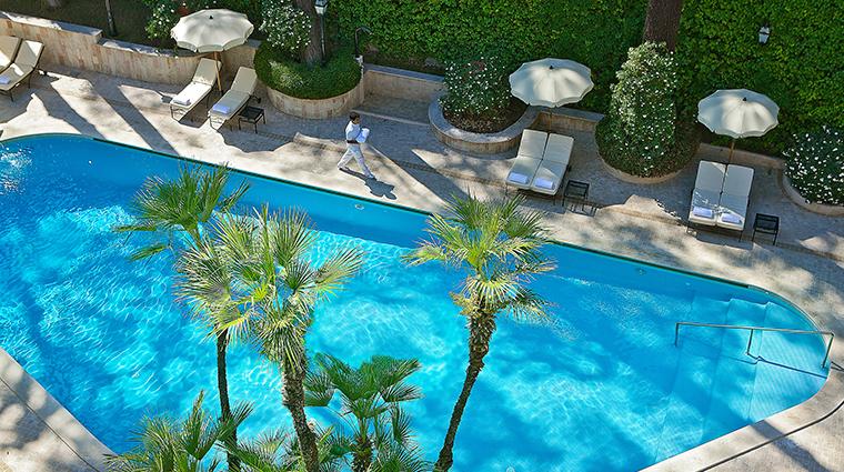 Aldrovandi Villa Borghese Pool