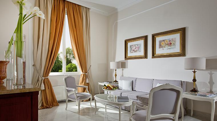 Aldrovandi Villa Borghese Salotto Executive Deluxe Suite