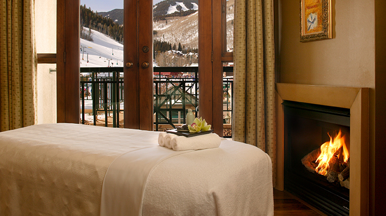 allegria spa at park hyatt beaver creek treatment room