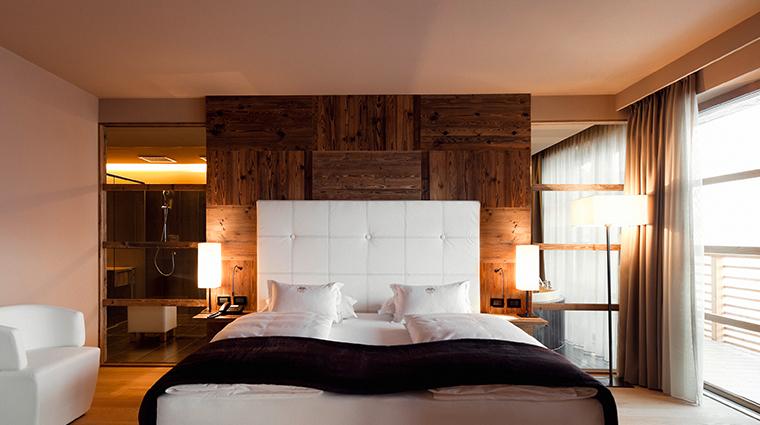 alpina dolomites alpina deluxe suite bedroom