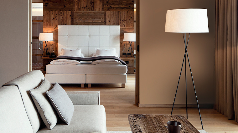alpina dolomites alpina deluxe suite living room