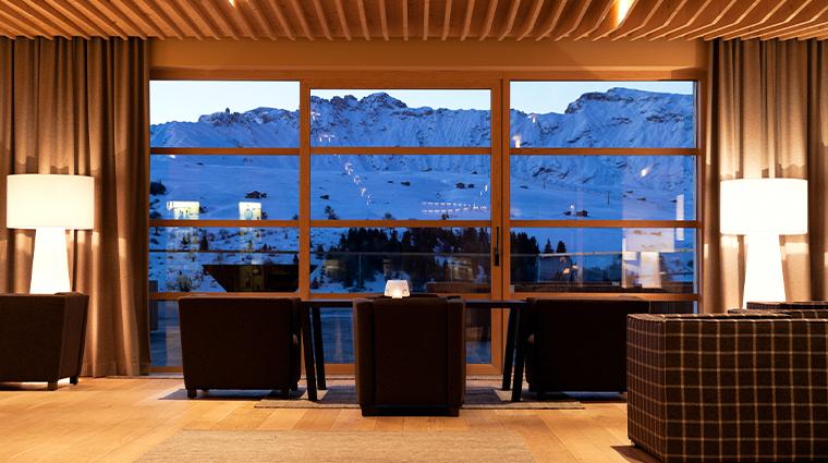 alpina dolomites bar area