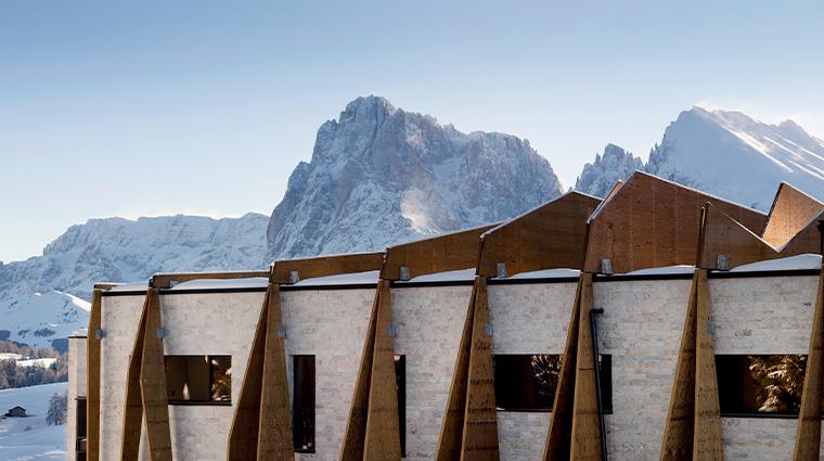 alpina dolomites exterior