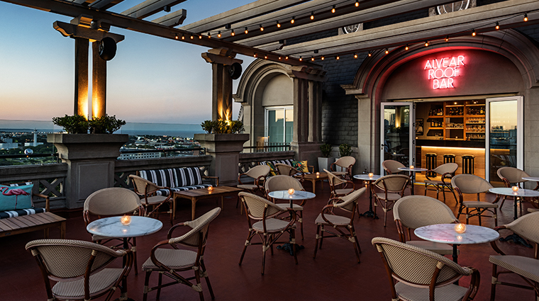 alvear palace hotel roof bar