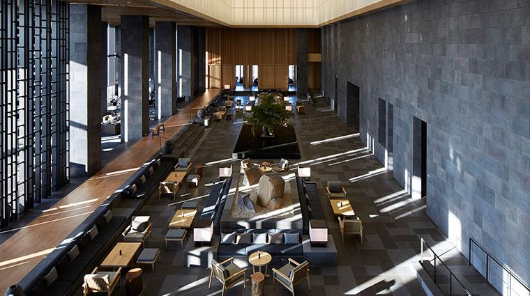 Aman Tokyo Lobby high