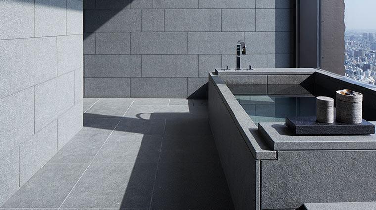 Aman Tokyo Suite bathroom