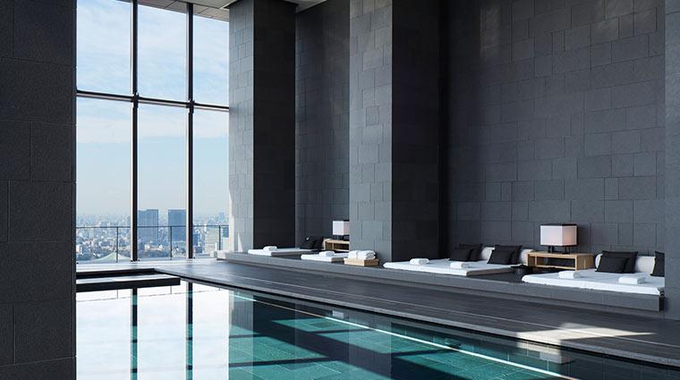 Aman Tokyo pool day