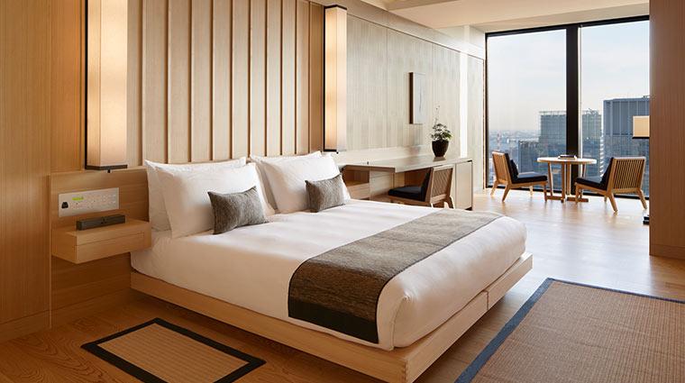 Aman Tokyo suite view