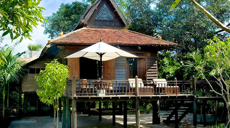 amansara Khmer Village House Exterior day