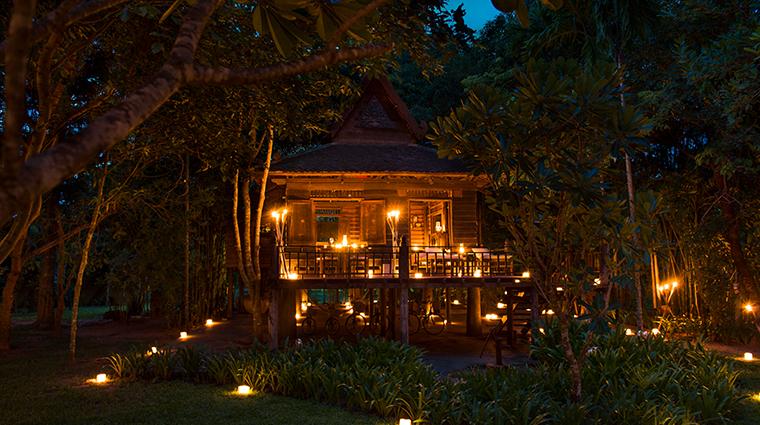 amansara Khmer Village House Twilight Dinner