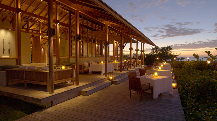 Amanyara Beach Club Terrace